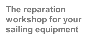 The reparation workshop for your sailing equipment